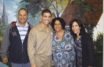 Mike, Matt, Mom & Auntie